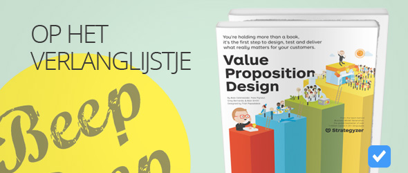 value proposition design - Alexander Osterwalder