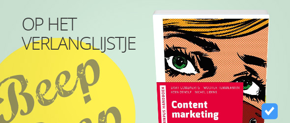Content marketing van Bart Lombaerts