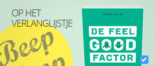 de feel good-factor van Esther Sluijs